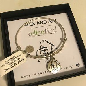 Alex & Ani for Ellen Degeneres Wildlife Fund